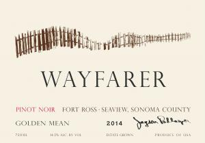 2014 Wayfarer Pinot Noir Golden Mean Face