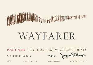 2014 Wayfarer Pinot Noir Mother Rock Face