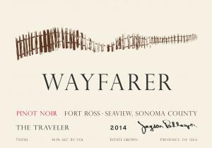 2014 Wayfarer Pinot Noir The Traveler Face